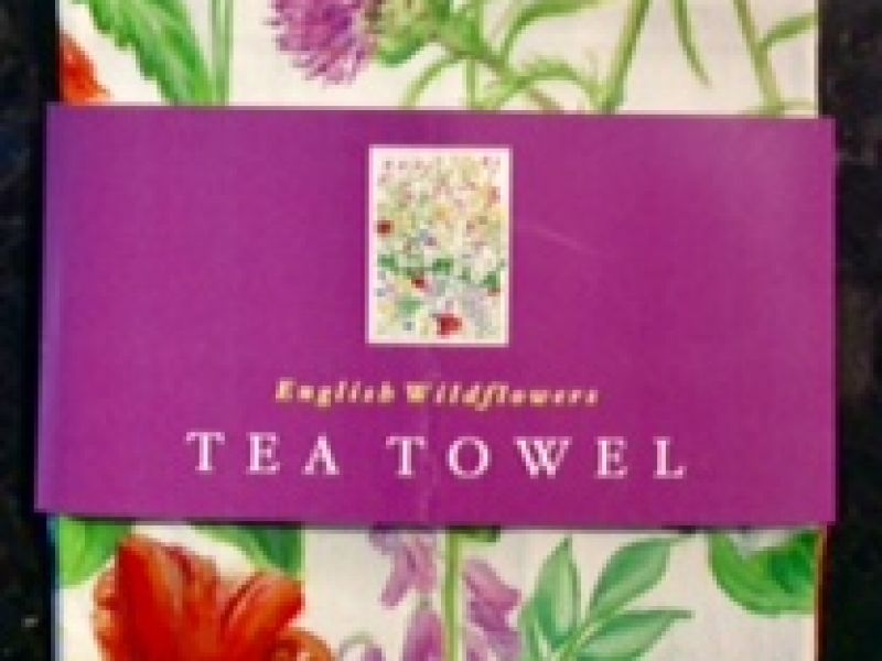 English Wildflowers Tea- Towel