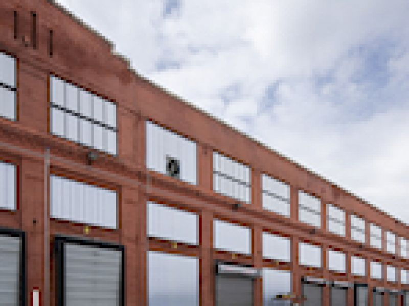 Locomotive Facility Improves Appearance and Functionality of 10 Buildings by Replacing Aging Windows with EXTECH\'s Systems