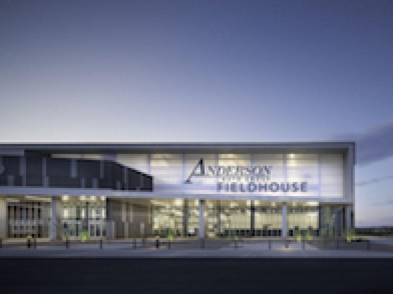 Arizona High School Fieldhouse\'s Translucent EXTECH LIGHTWALL System Creates Gem-like Appearance and Enhances Daylight, Comfort, Durability