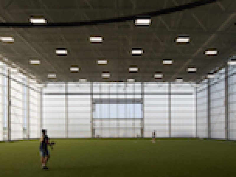 EXTECH's LIGHTWALL System Transforms Old Power Plant into Beloit College\'s New Powerhouse for Student Recreation
