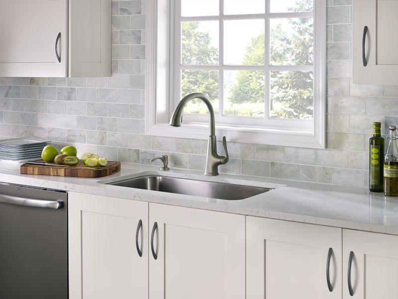 Pasadena Slate Pull-Down Kitchen Faucet