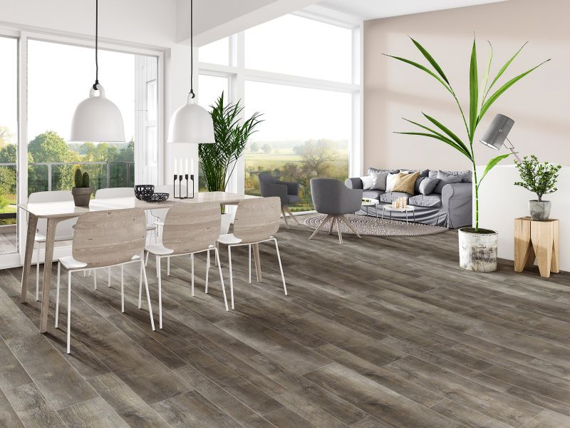 Engage Inception Rigid Core Flooring by Metroflor