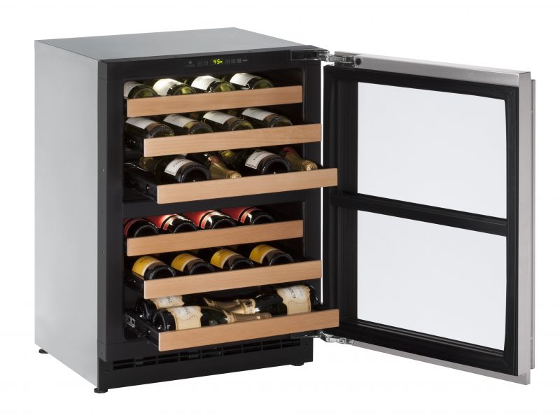 """2000 Series 24"""" Independent Dual-Zone Wine Captain Model (2224ZWC)"""