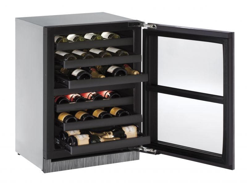 """Modular 3000 Series 24"""" Independent Dual-Zone Wine Captain Model (3024ZWC)"""