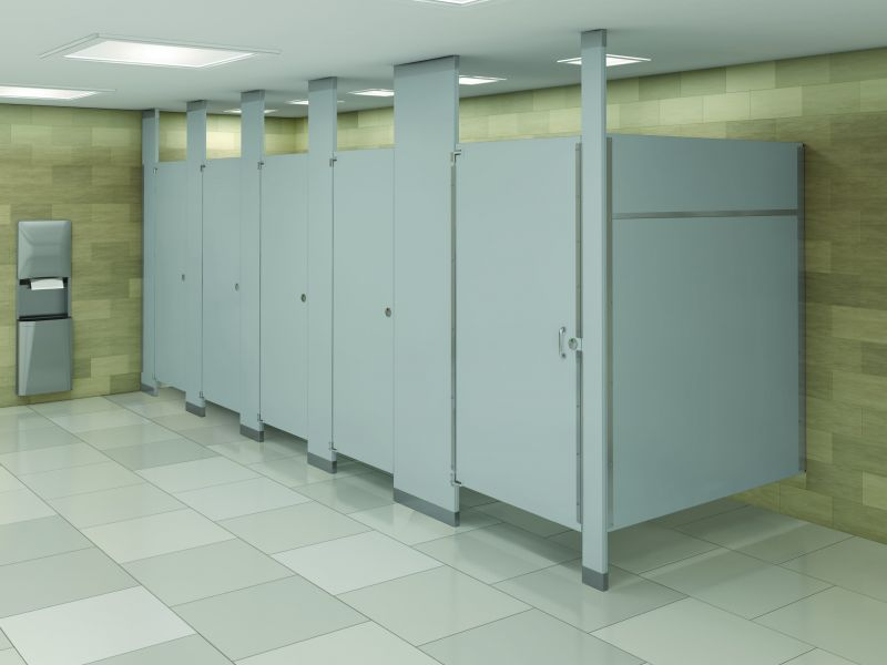 Mills Privacy Partitions by Bradley Corp.