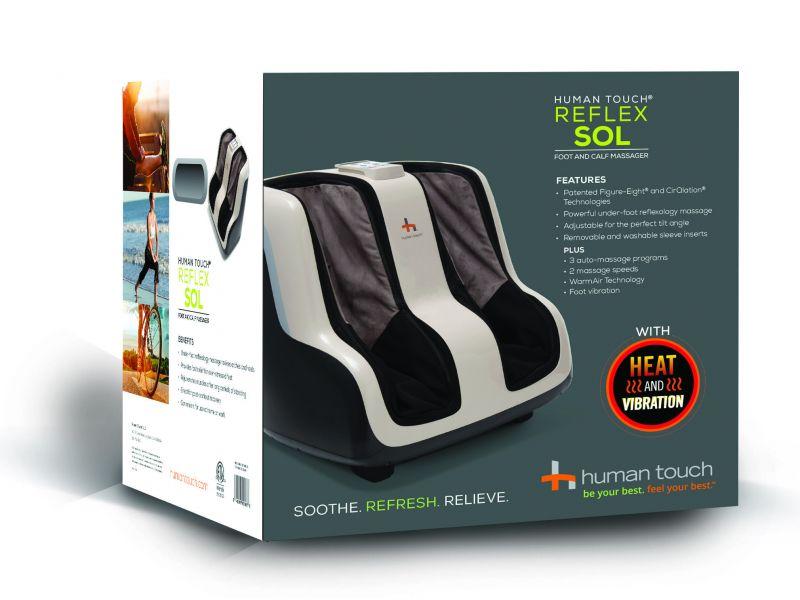 Human Touch® Reflex SOL Foot and Calf Massager