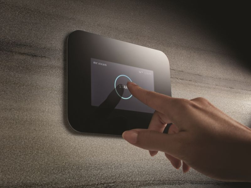 iSteam3 home steam shower control