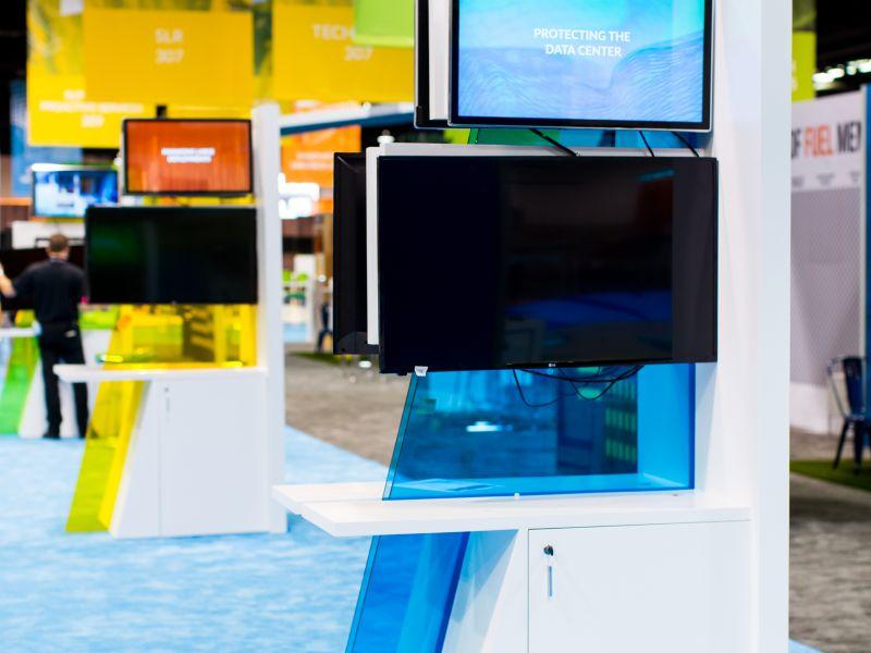 A-Frame Kiosk