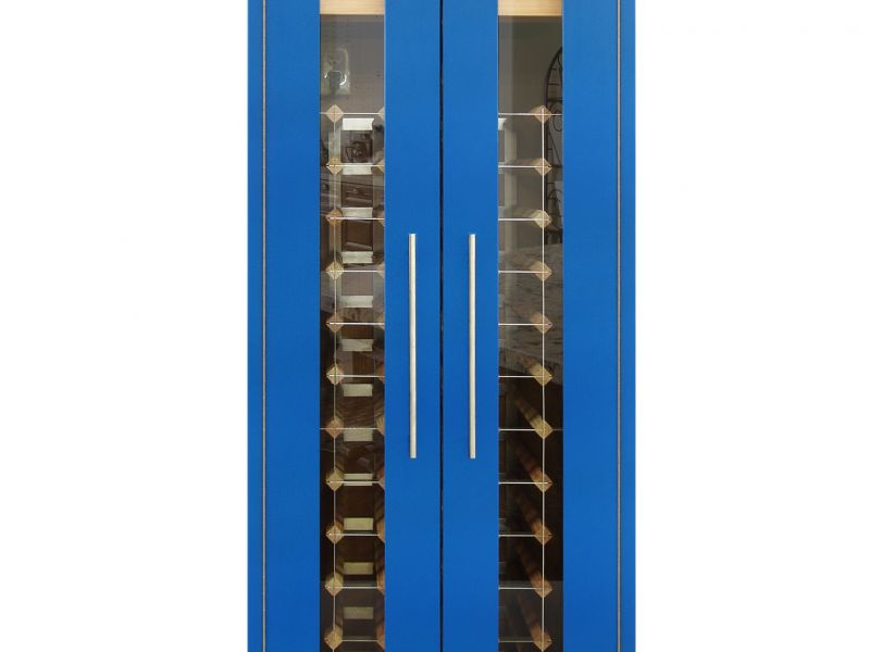 NEW: Vinotemp Two Door Formica Wine Cabinet