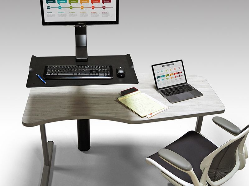 JumpDesk Sit Stand Multi-Use Office Desk