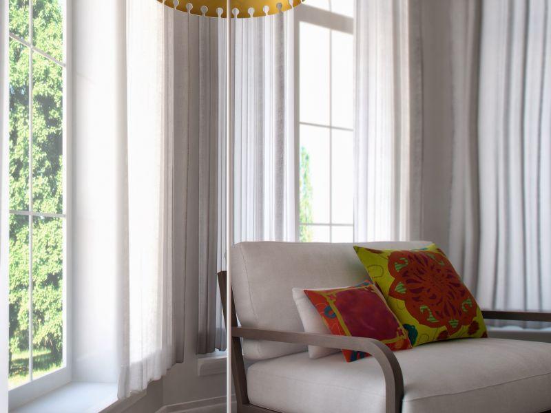 Quito Floor Lamp White