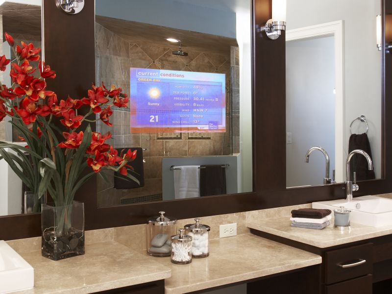 Vanishing Vanity TV Mirror