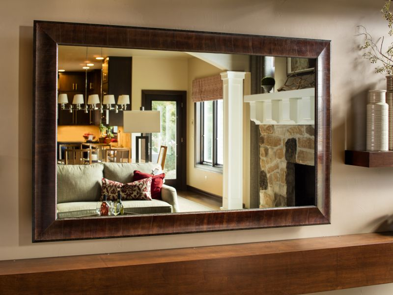 Vanishing Entertainment TV Mirror