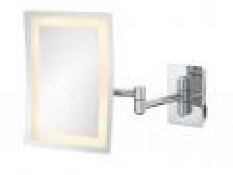 LED Lighted Rectangular Wall Mirror