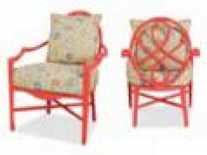 Bellechase Lounge Chair (Flame Finish)