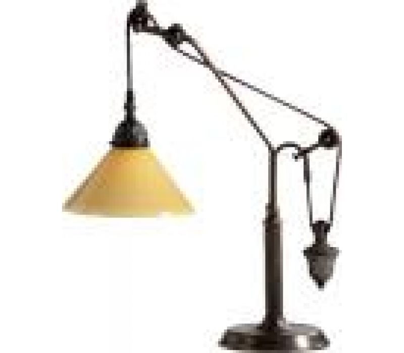 Pulley System Desk Lamp