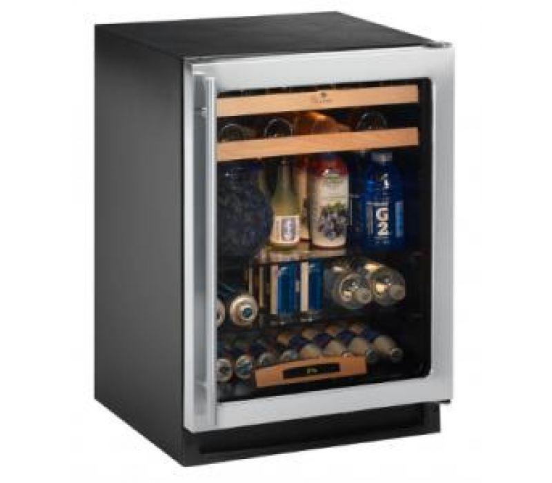 Energy Efficient Glass Door Refrigerator with Wine