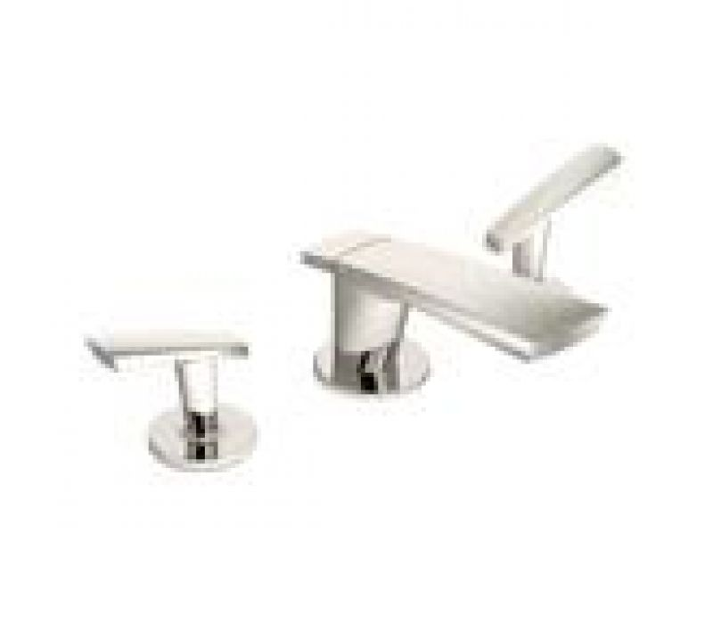 Naru Bath Faucet in Polished Nickel