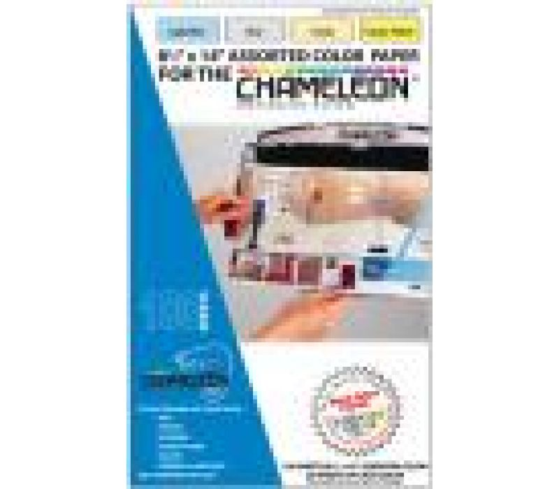 Chameleon 8.5 x14 Message Paper-100ct Assorted Col