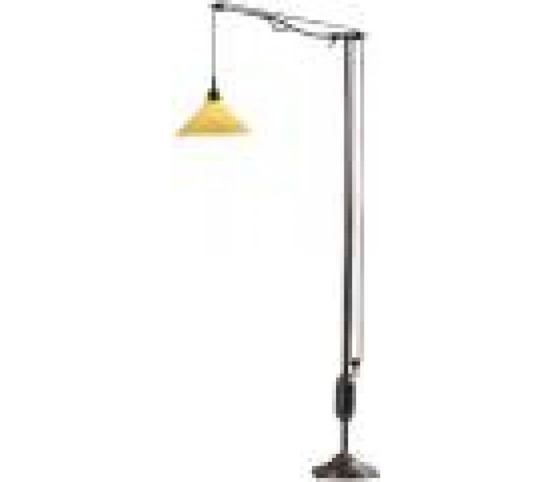 Pulley System Floor Lamp