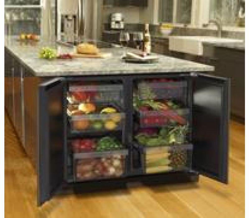 3036RR, 36 Modular 3000 Series Solid Door Refrigerator