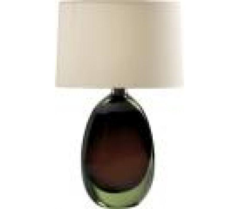 Sommerso Glass Bottle Lamp