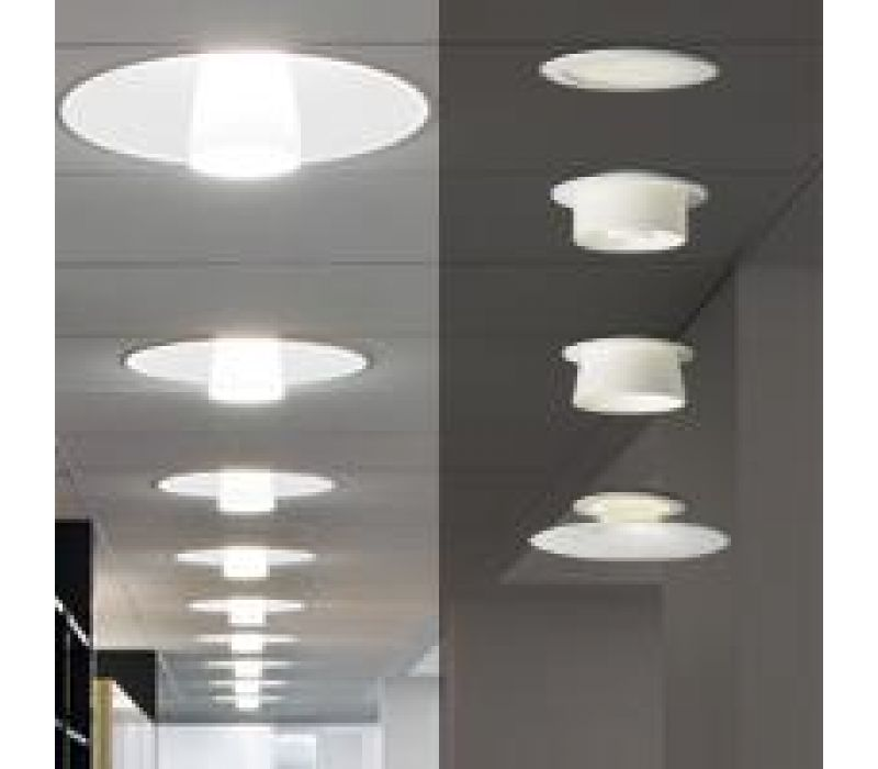 White Ceiling Series Fixtures
