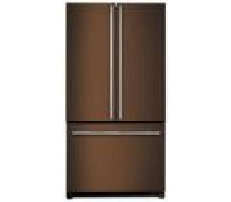 French Door Refrigerator, Oiled Bronze