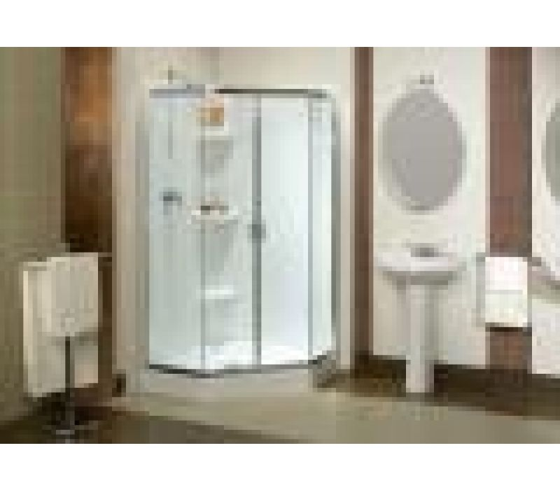 MAAX Intuition¢â€ž¢  Frameless Corner Shower Door