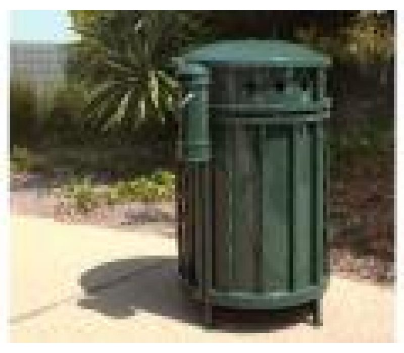 Paseo Litter and Recycling Receptacles