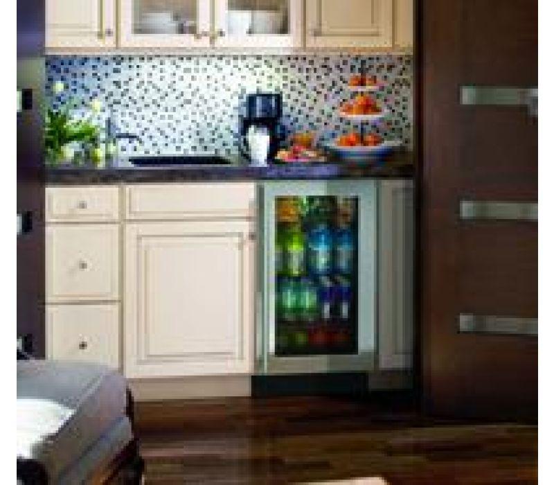 3018RGL, 18 Modular 3000 Series Glass Door Refrigerator