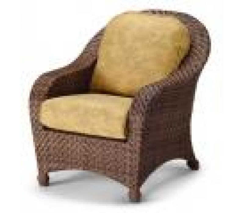 Key Biscayne Deep Seating Wicker Arm Chair