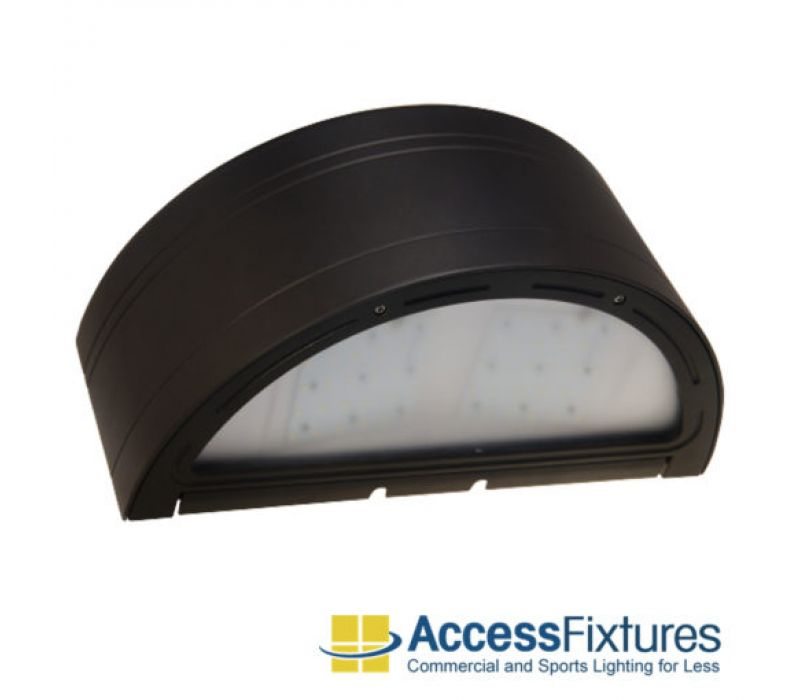 BAKU 50w LED Wall Pack with Photocell – L70@50k Hrs 100w MH EQV, MAX VALUE