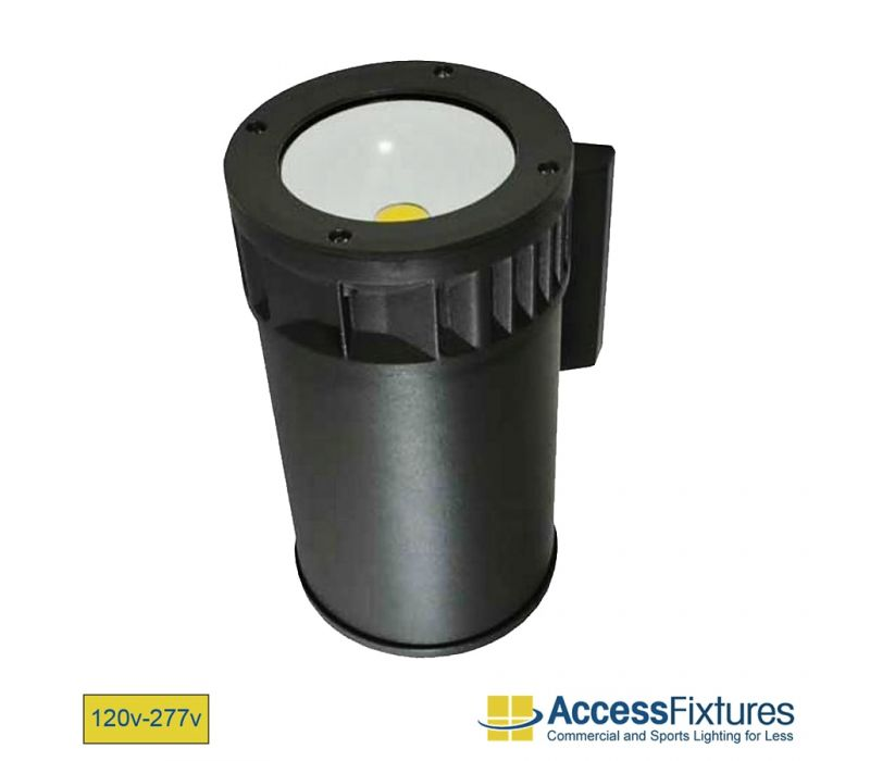 HAMA 21w Up LED Outdoor Wall Sconce 120-277v, 70w HID EQV Wall Pack