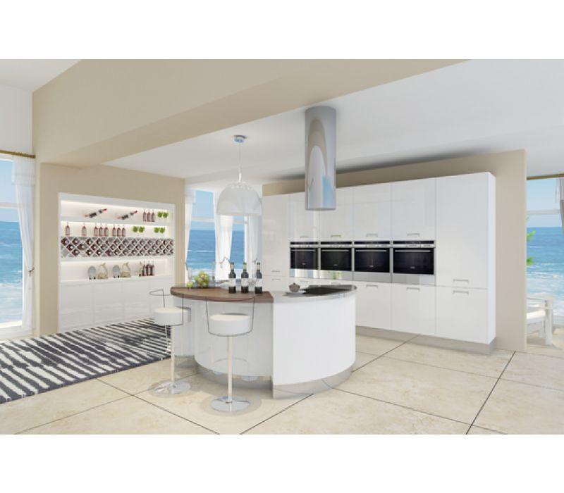 Stainless Steel Modern Kitchen Cabinet