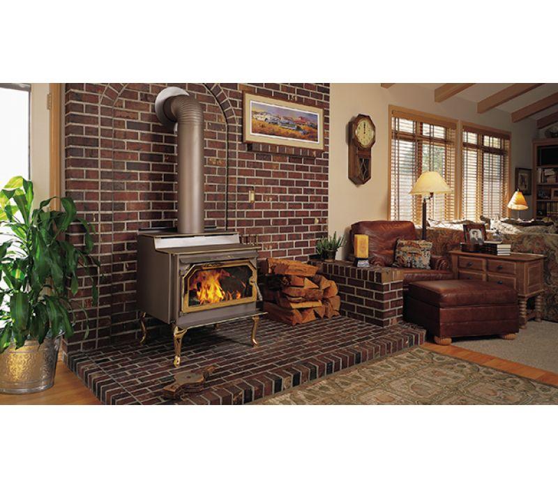IronStrike Canyon ST310 wood-burning stove
