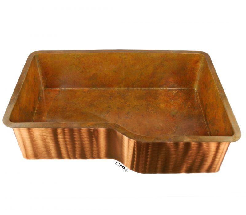 Custom Copper Visio Sink