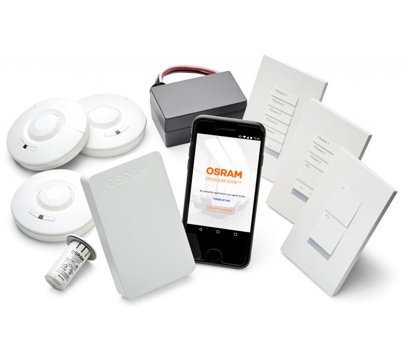 ENCELIUM EDGE™ Standalone Wireless Light Management System