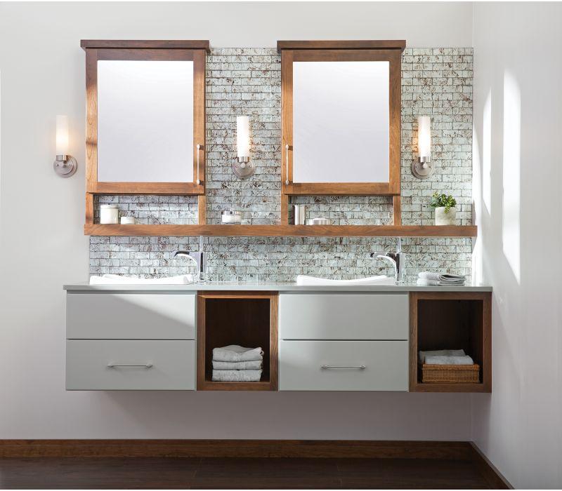 Floating Vanities & Linen Cabinets
