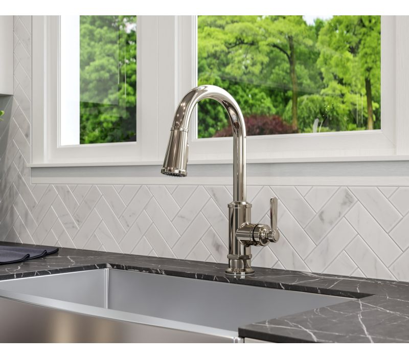 Port Haven 1-Handle Pull-Down Kitchen Faucet
