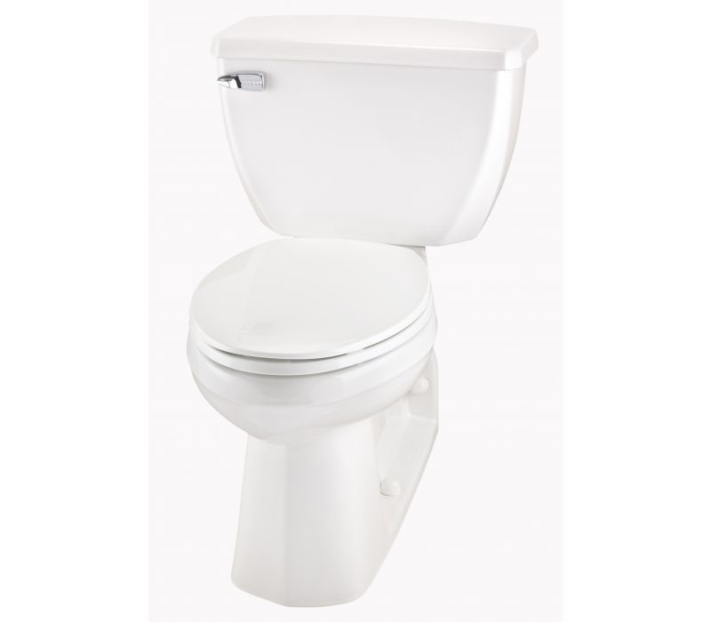Ultra Flush® Two-Piece Back Outlet Elongated ErgoHeight™ Toilet