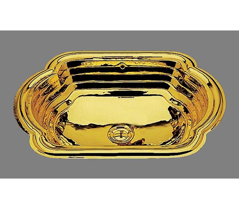 La Reina in Polished Gold