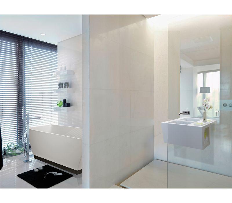 Compact Wall-Mounted Vanity Sink
