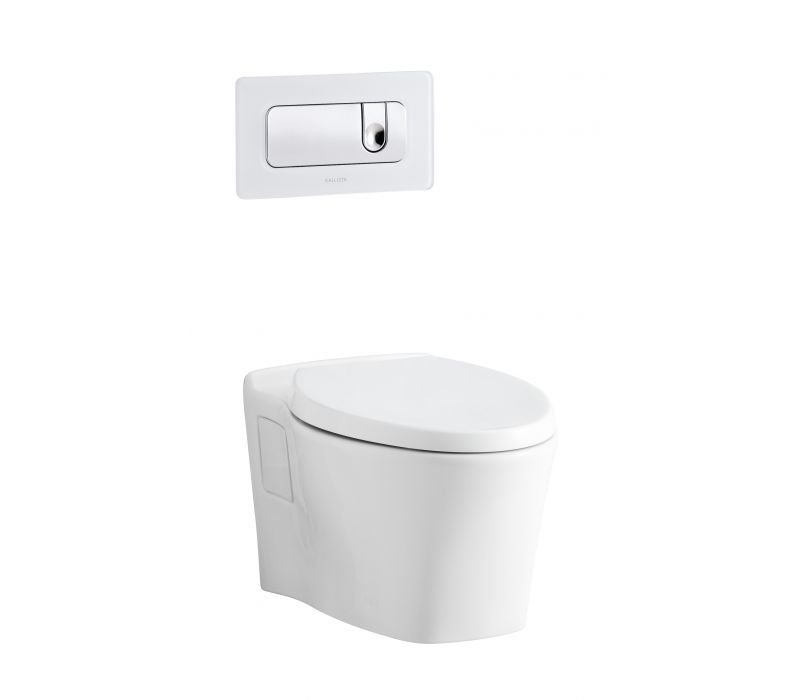 Pléo Wall-Mounted Toilet