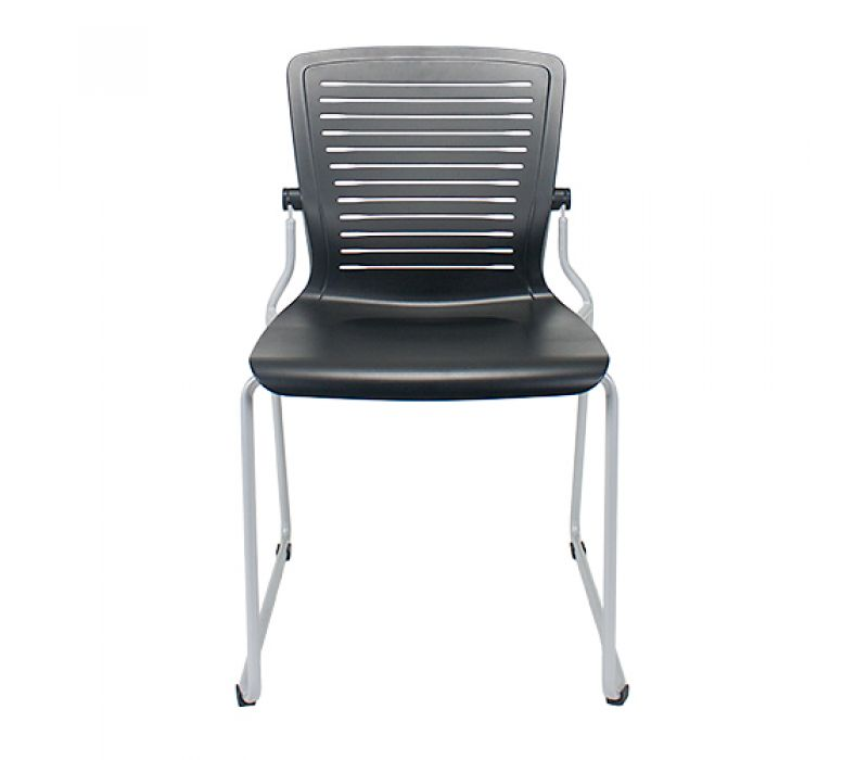The OM5 Series Stackable Collection (sled base with seat and back upholstery)