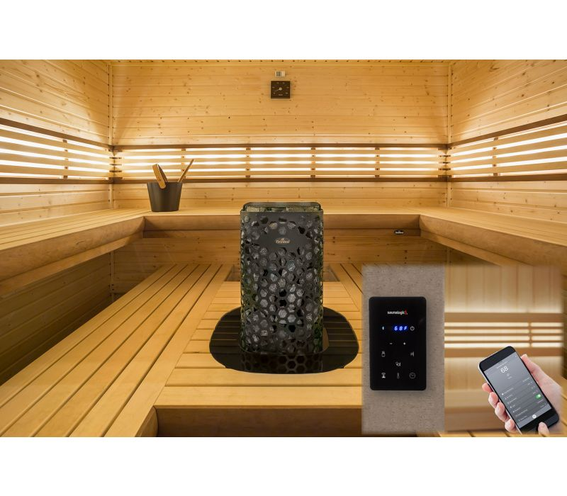 North America\'s First Sauna Control with Worldwide Mobile App