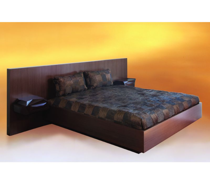 Rock Bed with Nightstands