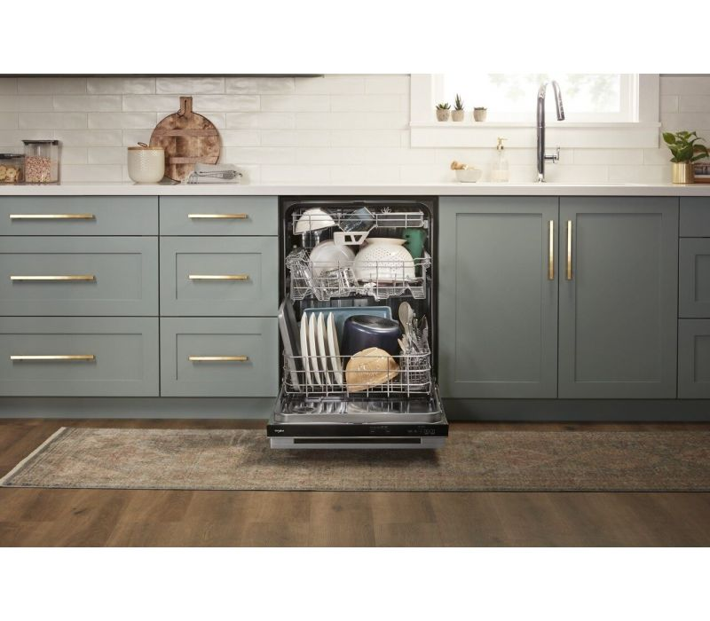 Whirlpool® Fingerprint Resistant Quiet Dishwasher with 3rd Rack & Large Capacity