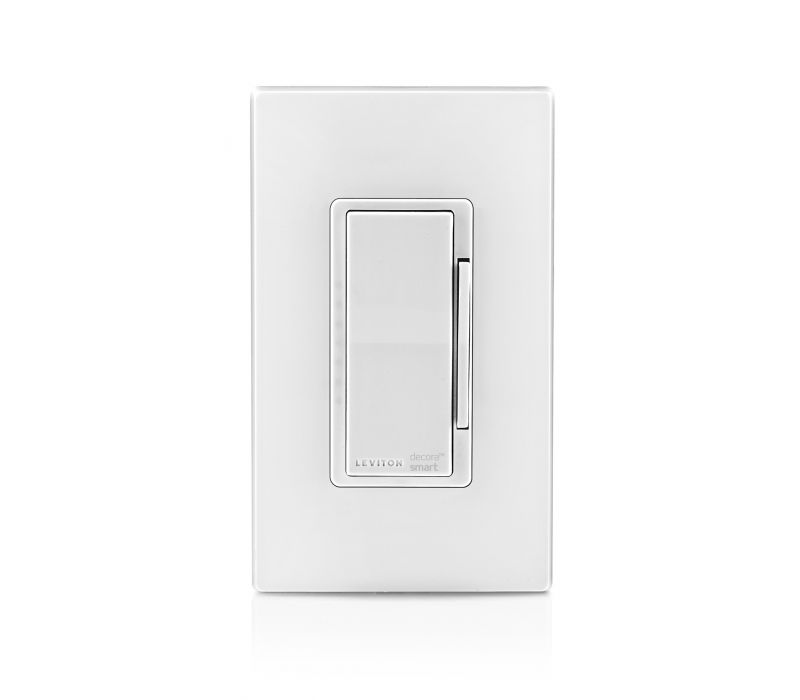 Leviton\'s Decora Smart with Wi-Fi Technology - 1000W Universal LED/Incandescent Dimmer