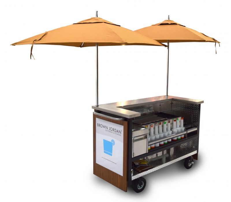 Mobile Food & Beverage Carts